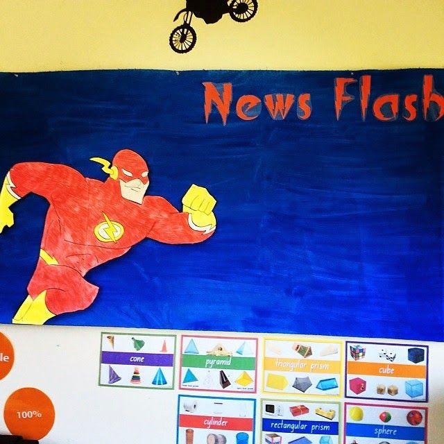Miss Smartie Pants Super Hero Themed Classroom!