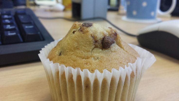 chocolate chips cupcake