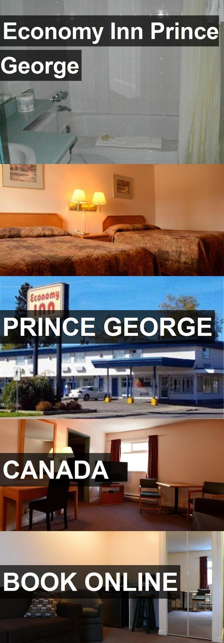 Hotel Economy Inn Prince George in Prince George, Canada. For more information, photos, reviews and best prices please follow the link. #Canada #PrinceGeorge #EconomyInnPrinceGeorge #hotel #travel #vacation