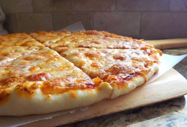 The Bake-Off Flunkie: Baking-Powder (no-yeast) Pizza Crust
