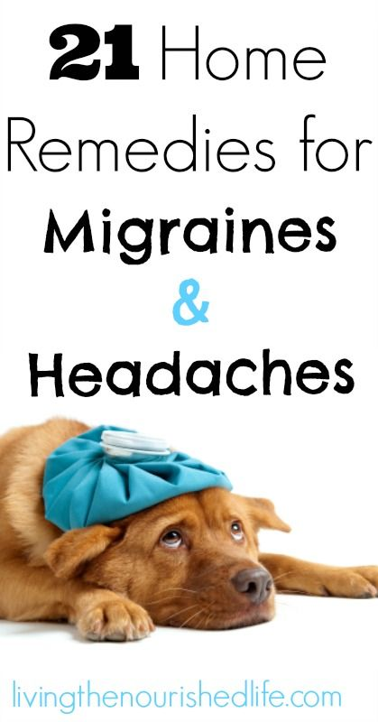 21 Home Remedies for Migraines and Headaches -- The Nourished Life
