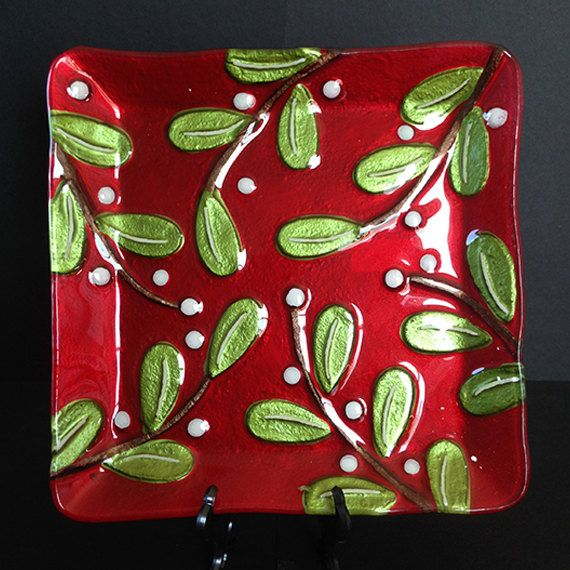Fused glass christmas gift ideas