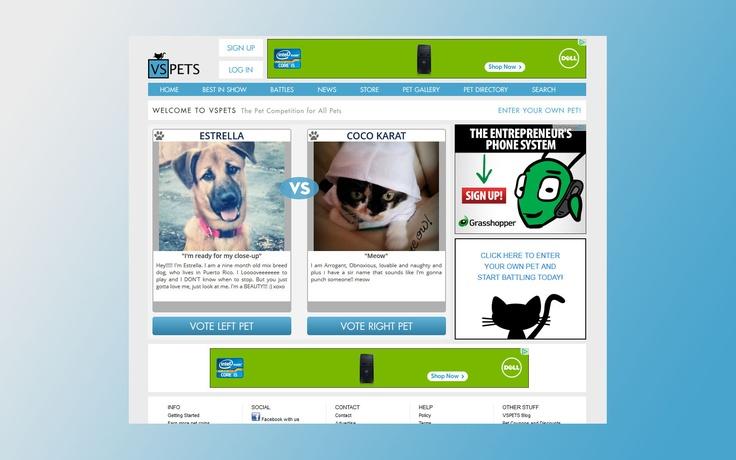 Internet Pet Competition