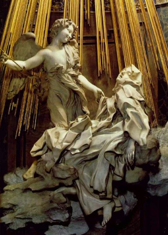 Estasi di Santa Teresa D'Avila. Capolavoro di Gianlorenzo Bernini