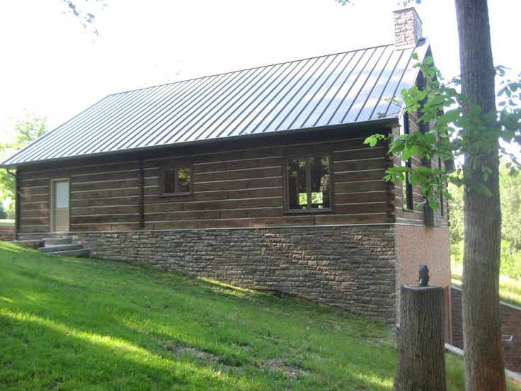 1000 images about concrete on pinterest for Concrete log cabin