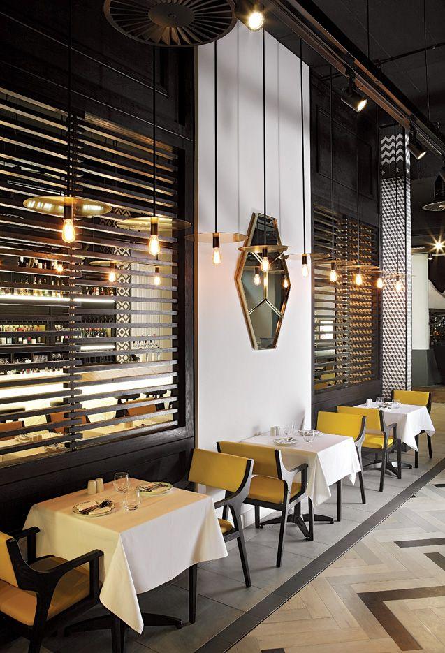 OKHA Interiors - Atlantic Seaboard Restaurant
