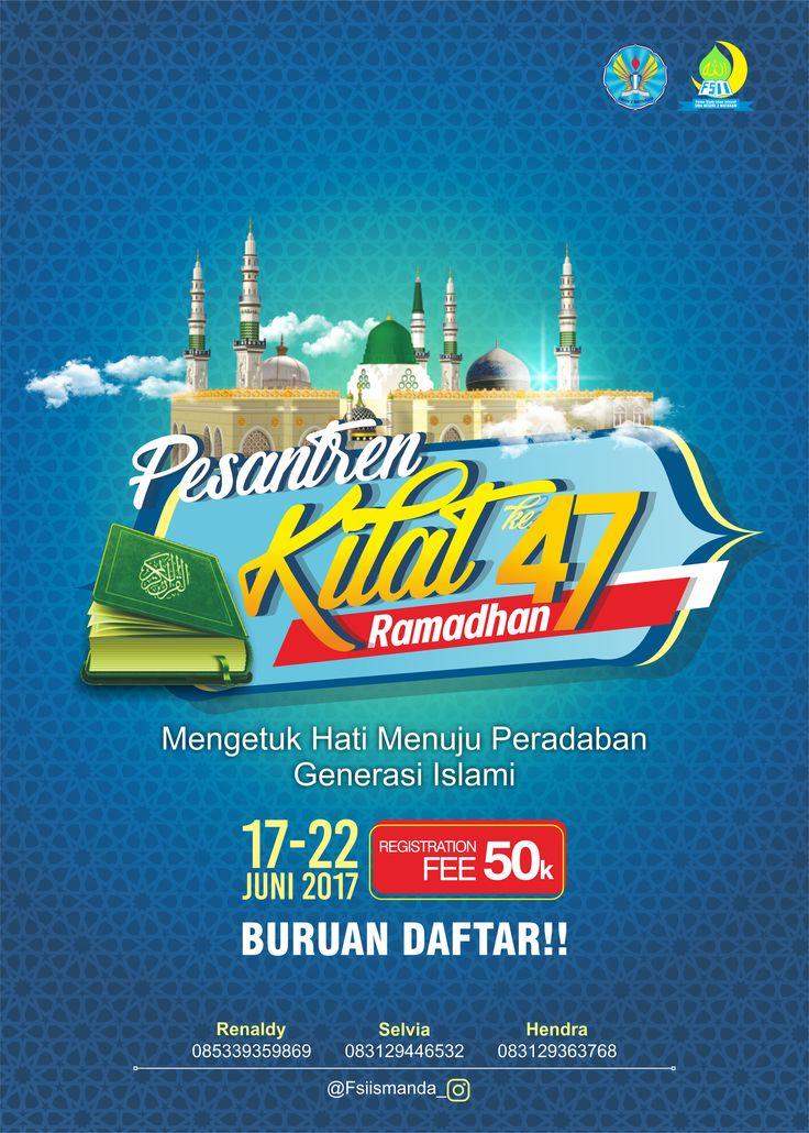 Poster Pesantren Kilat Client : SMAN 2 Mataram - NTB
