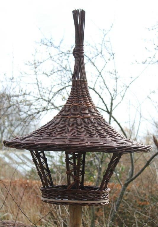 Willow Birdfeeder - Learn from Anne Mette Hjornholm at the 2014 Stowe Basketry Festival!