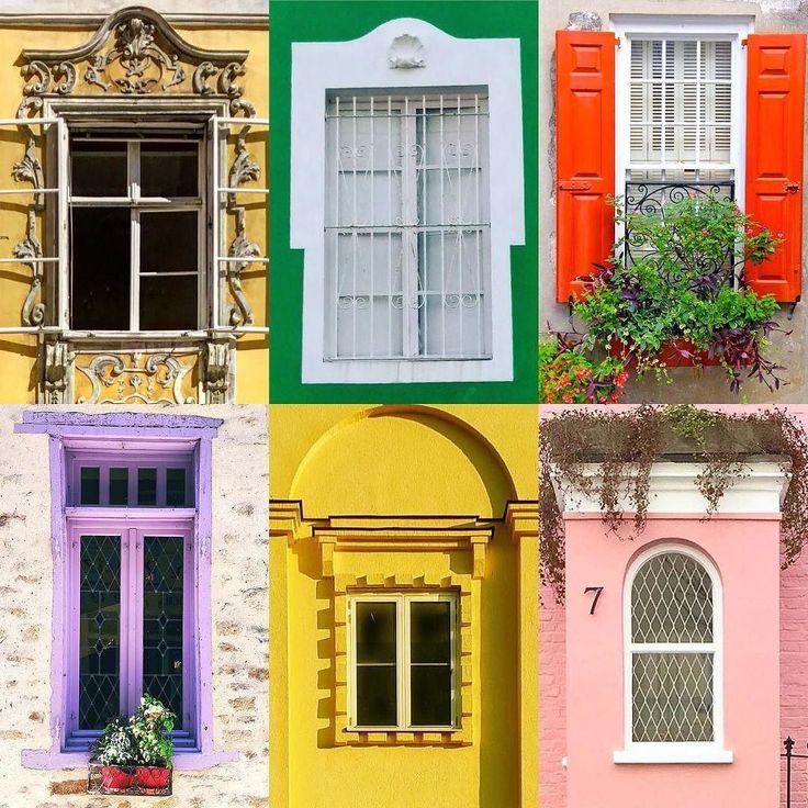 Windows by:  R1C1: @immanuel76 R1C2: @dorylas_wild R2C1: @lindacurley R2C2: @mamzikorven R3C1: @bringmesomecolor R3C2: @londonispink  Congratulations!  Tag #windowsanddoorsoftheworld to be featured!
