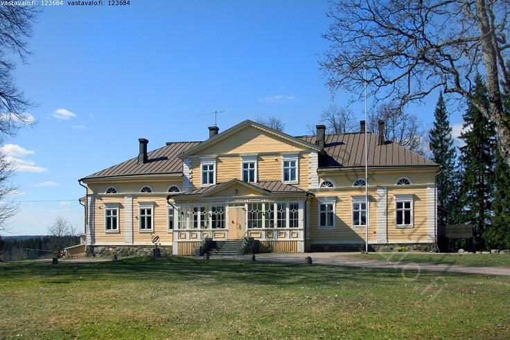 Raalan kartano, Raala mansion, built in 1848. Located in Raala village, Nurmijärvi, southern Finland.
