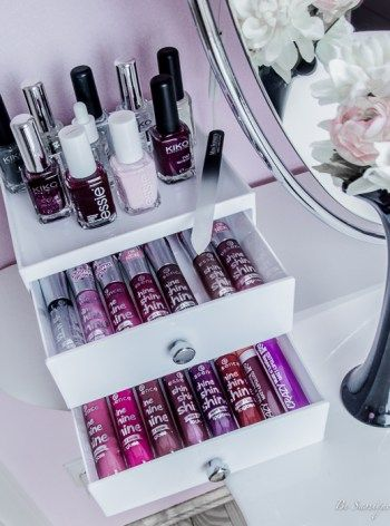 How to sort your makeup table perfectly