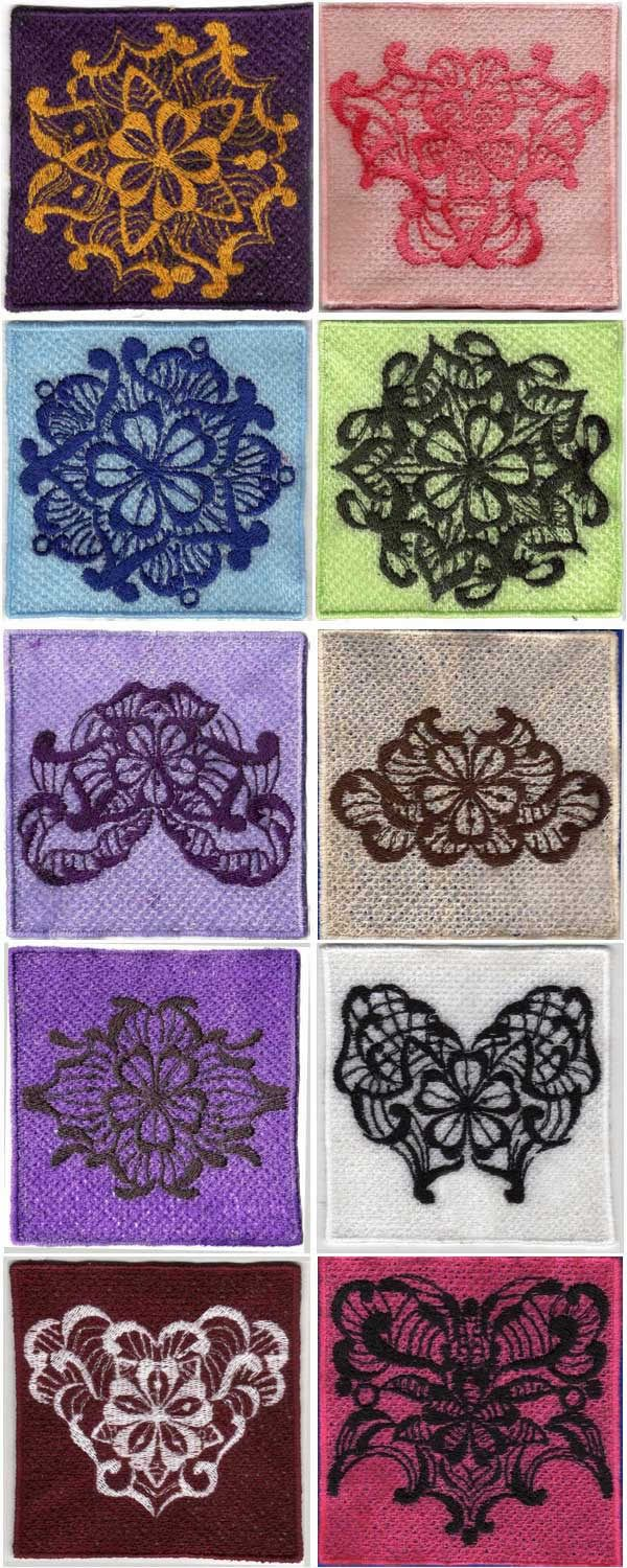 Stand Alone Lace Embroidery Designs : Best free standing lace images on pinterest