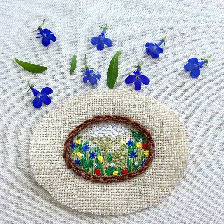 Future embroidered brooch 3x4 cm #brooch #embroidery #embroideryart #embroidered #handmade #canvas #craft #embroideredbrooch