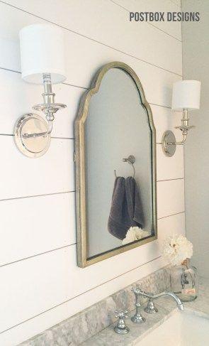 BIG REVEAL! Update a Builder Basic Bathroom Kid Bathroom Design