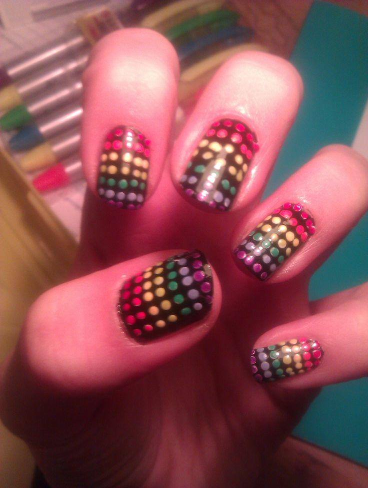 Rainbow dots (self made)