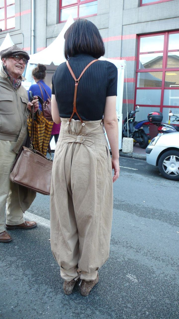 So wonderful to see voluminous soft trousers coming back into style - MM via yokoo