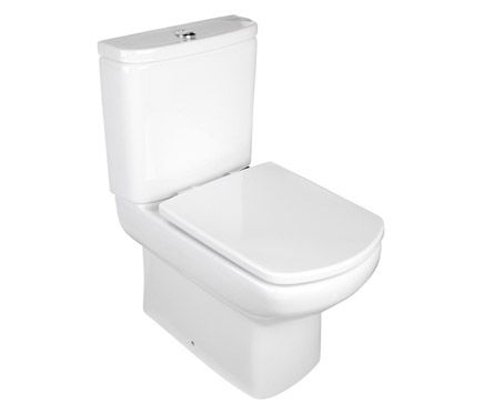 Pack de wc con salida a suelo o pared roca eos leroy for Pack de wc con salida dual roca eos