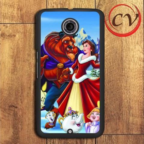 Beauty And The Beast Christmas Nexus 5,Nexus 6,Nexus 7 Case