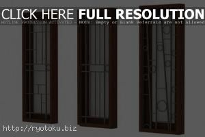816 desain pagar minimalis Desain tralis besi jendela rumah minimalis