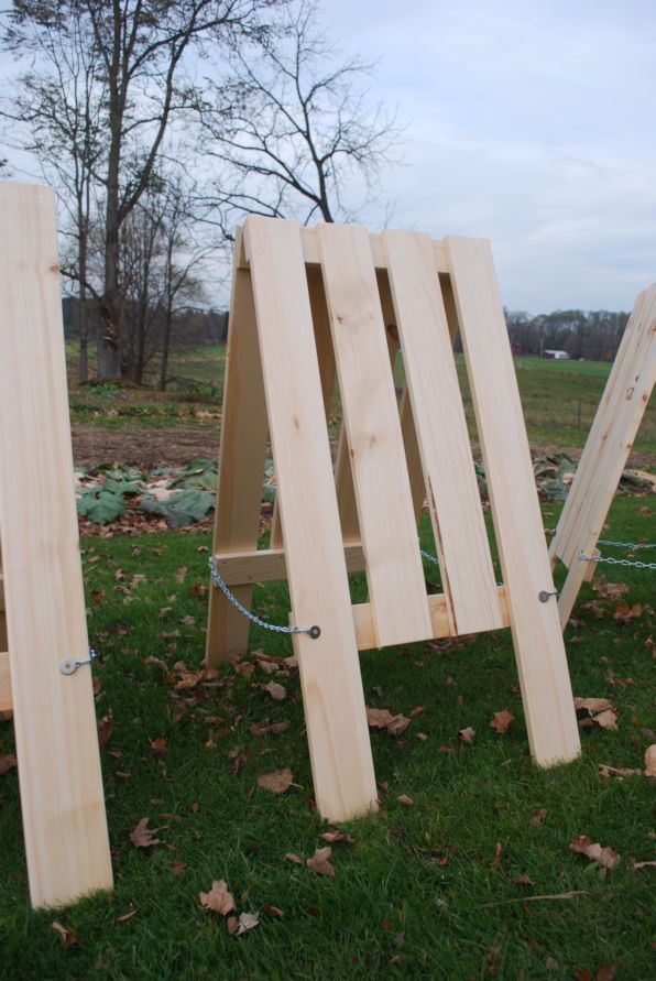 how to build a cage for a shrub