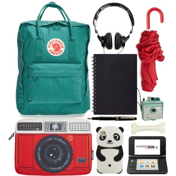 A fashion look from March 2015 featuring Fjällräven backpacks, Woouf! tech accessories and Forever 21 umbrellas. Browse and shop related looks.