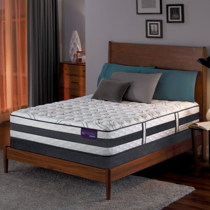 Zinus Night Therapy Icoil 13 Deluxe Euro Box Top Spring Mattress