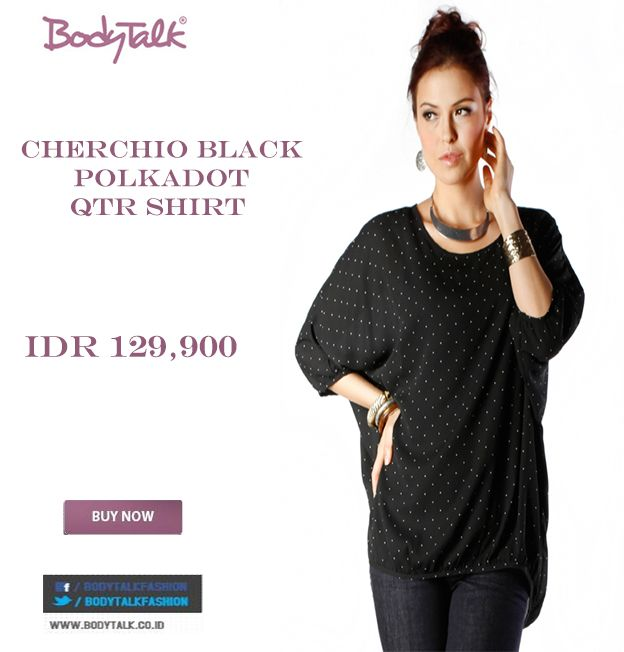 Looking for Polkadot Shirt try this one Ladies on Sale only IDR 129,900 >> http://ow.ly/vpBYF