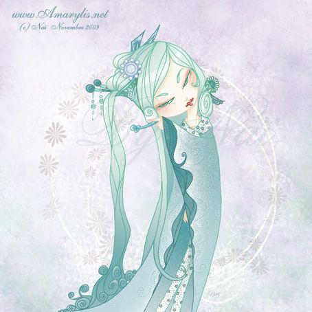 Kokeshi aquarius by Nailyce.deviantart.com on @deviantART