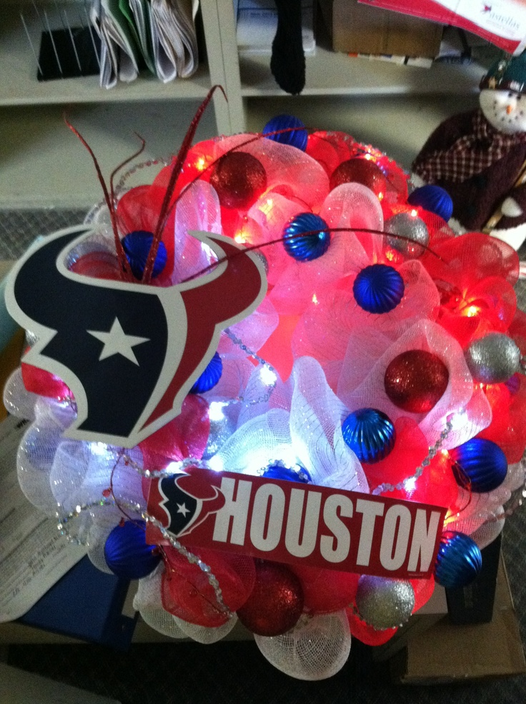 Houston Texans Wreath, ❤it.