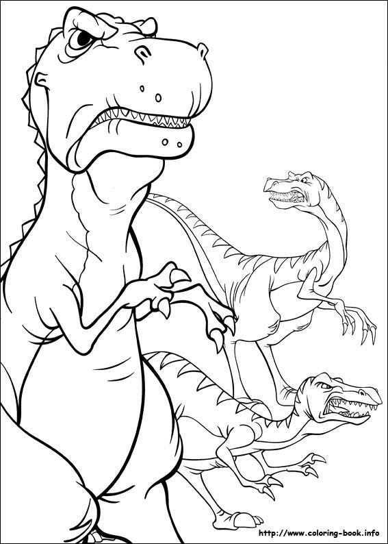 10 best Coloring Pages The Land Before Time images on Pinterest