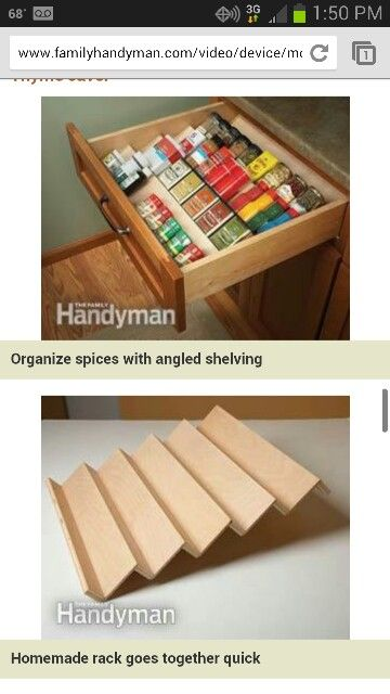 Spice organization, medicine bottle organization