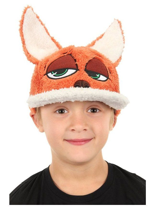 Pin for Later: Disney Zootopia Halloween Costumes Your Kids Are Going to Love Zootopia Nick Wilde Child Fuzzy Hat Zootopia Nick Wilde Child Fuzzy Hat ($15)