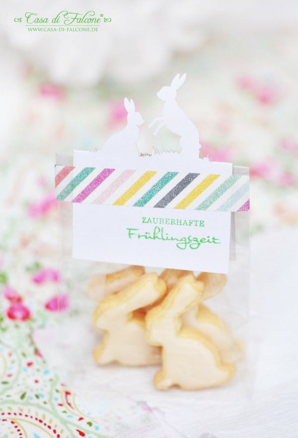 Osterkekse Hase mit Zitronenglasur I Keksverpackung I Lasercut Karte I Casa di Falcone