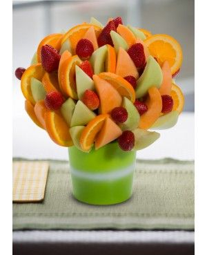 Honey do you Love me Blossom? scent free fruit bouquet are great for all occasions and make great gifts ideas or decorations from a proud Canadian Company. Great alternative to traditional flowers or fruit baskets