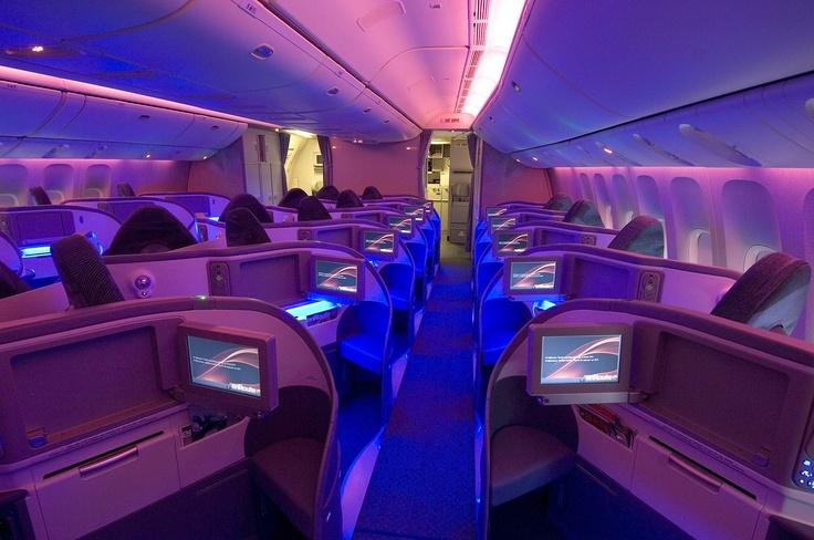 Business Class Air Canada, Boeing 777300ER Volar