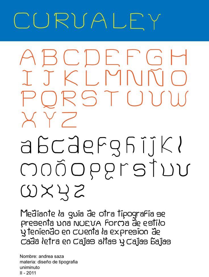 Creación de tipografia