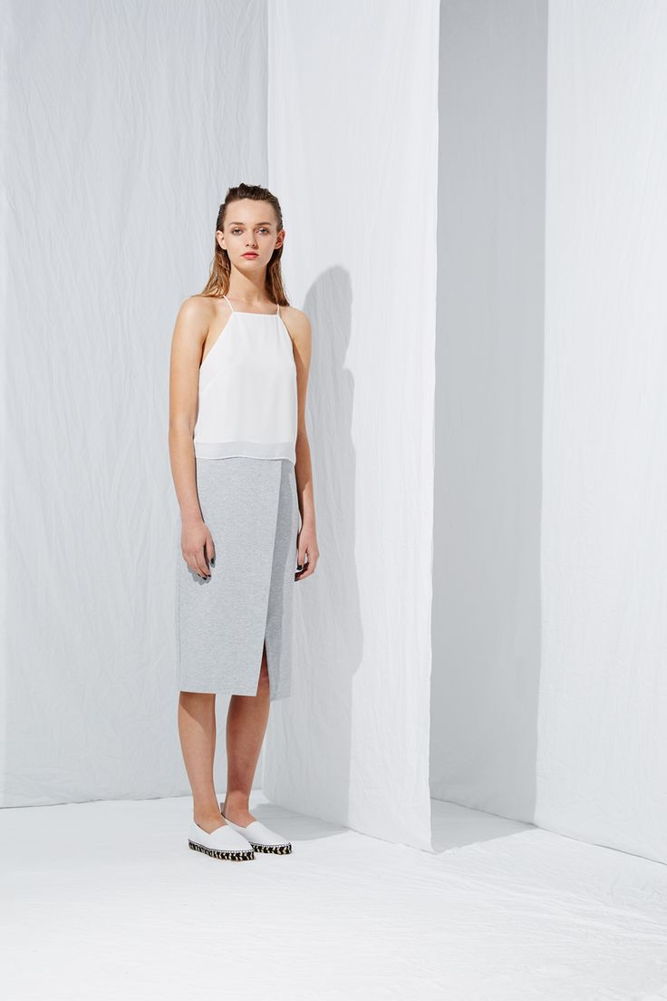 Apron Camisole from the latest L.W.B. collection by Australian fashion designer LIFEwithBIRD Summer'15