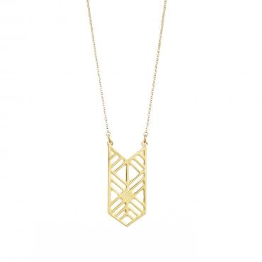 """Aspen Necklace - Available in gold and silver. Get 25% off this necklace with code """"foxypin"""" http://www.foxyoriginals.com/Aspen-Necklace-in-Gold.html Tags: gold necklace, Aspen, imaginary voyage, gold jewelry, foxy originals"""