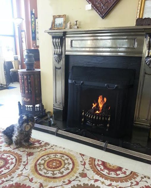 Gas coals offer the historic appeal of a coal burning fireplace, with the cleanliness and convenience of a gas fire. Gas coals are specially sized to fit small fireplaces like those found in historic homes.