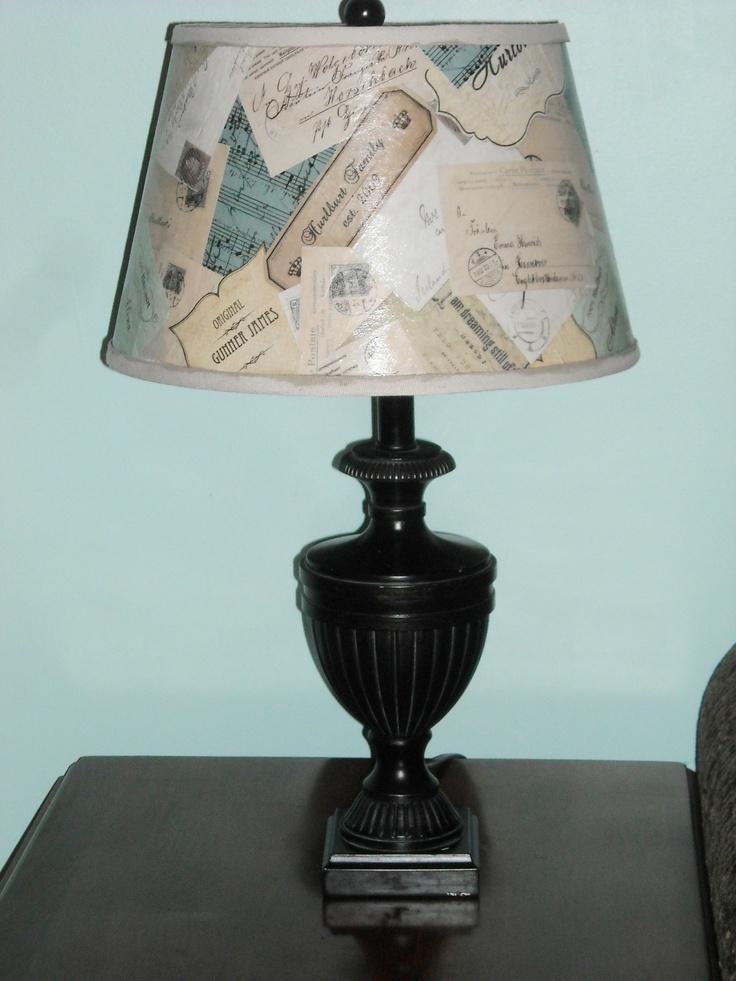 Diy Lamp Shade Makeover Diy Lampshades And Lamps Pinterest