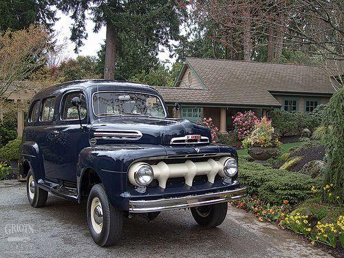 1951 Ford F1 Ranger 4x4