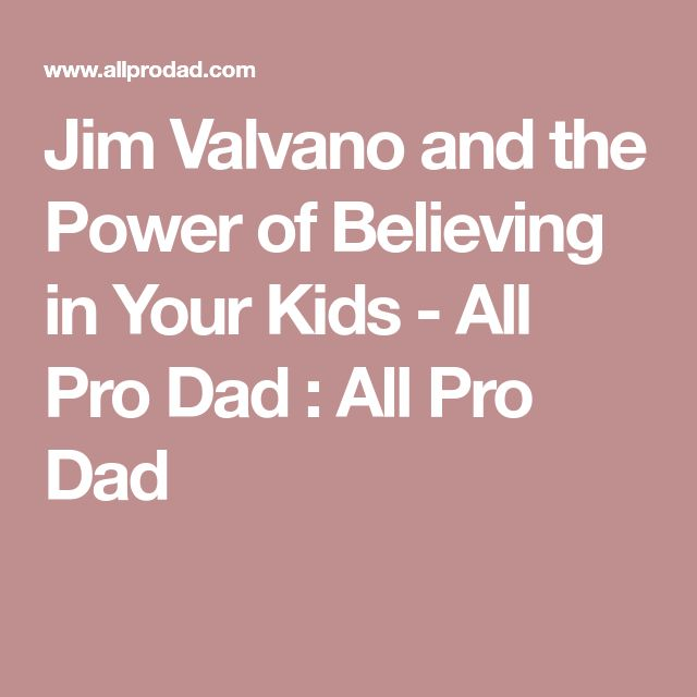 Jim Valvano and the Power of Believing in Your Kids - All Pro Dad : All Pro Dad