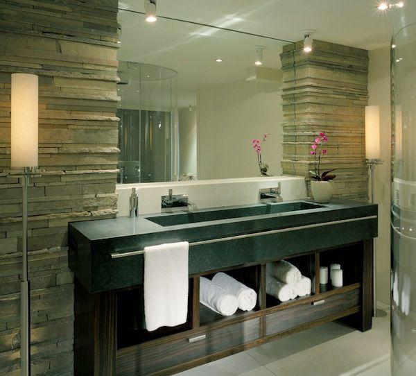 Space Saving Ideas Under Your Bathroom Fixtures