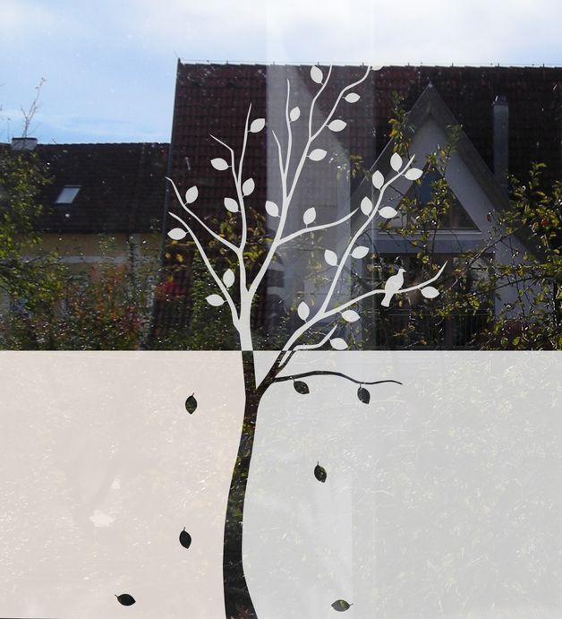 Sichtschutz Frs Fenster Mit Baummotiv