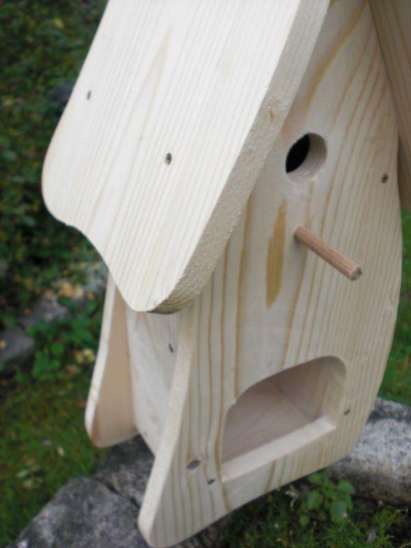 vogelhaus nistkasten bausatz vogelvilla zum selbst bemalen insektenhotel deko vogelvilla. Black Bedroom Furniture Sets. Home Design Ideas