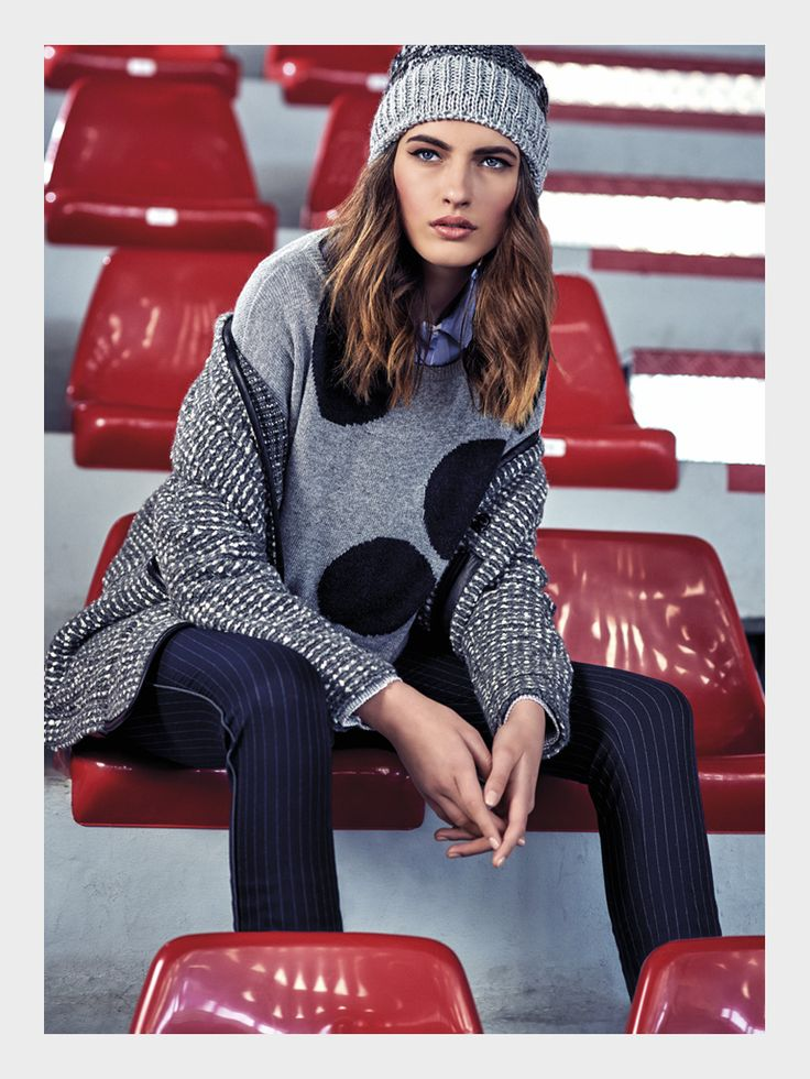 Sfizio has chosen the vintage feel of a 60s gym for the press campaign for its fall winter 2015-16 collection characterised by Sporty Chic.