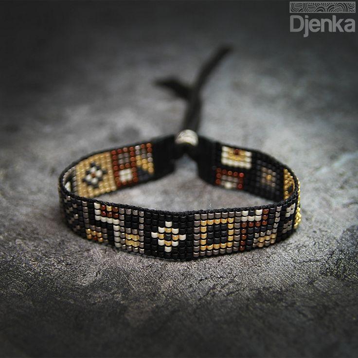Bransoletka etniczna - beading - Lobito - Djenka