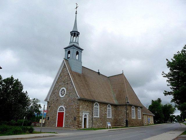 1016-Eglise St-Pierre, Saint-Pierre-de-l'ile-d'Orléans 1718 by Jean20100, via Flickr
