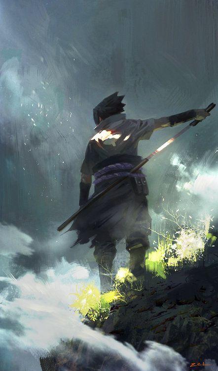 sasuke by cl zSyd Mead's Sentury II