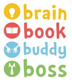 brain book buddy boss - Google Search